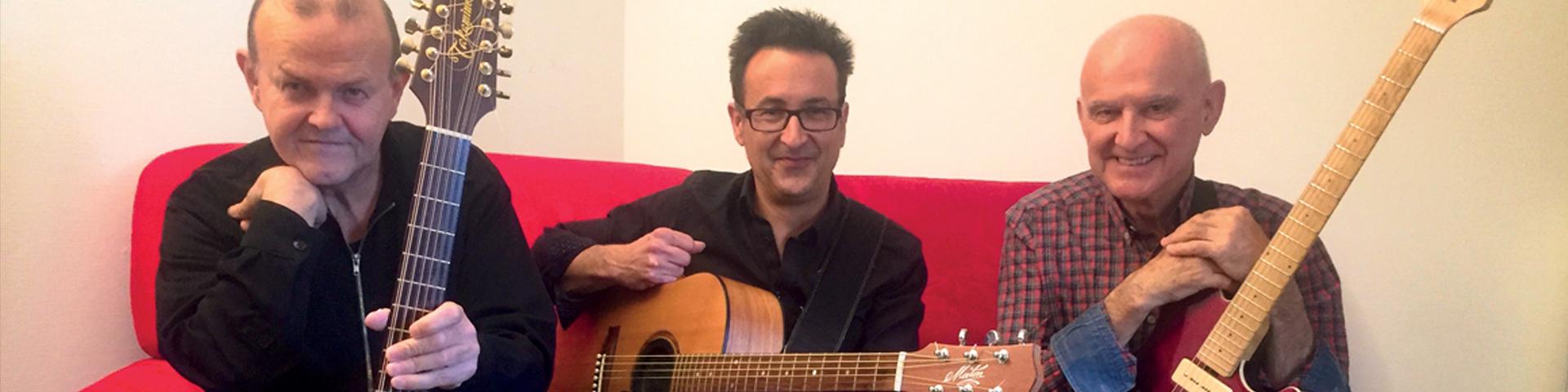 Dan Ar Braz trio guitares